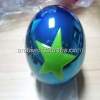 Christmas decoration ball, bell ,with star, plastic mateiral