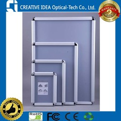 32mm Round Corners Aluminum Poster Frame Snap Open Frame