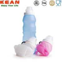 Custom Style Silicone Foldable Bangalore Plastic Bottle 500ml