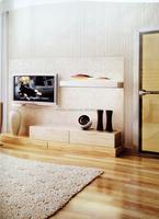 city living room wall paper, elegant wallpaper design