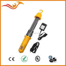 60 LED rechargeable work light 12V with magnet and hook for car mending
