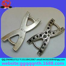 jewelry clothing bags accessories hardware metal zinc alloy nickle gold gun sliver bronze antique diamond 8 shape shoe buckle