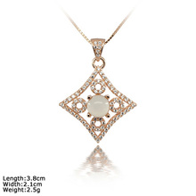 [ XDZ-1385b ]High Quality 925 Sterling Silver Pendant with Moonstone