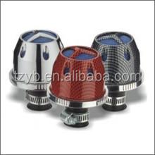 1208 56mm car part universal racing air intakes washable mushroom head super power flow mini air filter