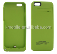 CE Approved High Capacity 2500Mah Battery Case for iPhone6 Battery Cases