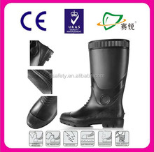 high quality fashion pvc working boot rainboot