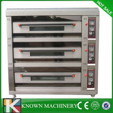 Best selling big volume 3 Layer gas industrial pizza oven