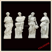 Stone Carving Garden Statues,God Of The Four Seasons Stone Statue