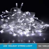 outdoor Indoor Christmas Party Home Artificial Tree Decoratives 10m 100 bulbs Led Fairy String Lights