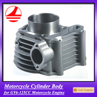 factory GY6 125 motorcycle engine cylinder body aluminum parts
