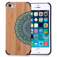 printing for new iphone 5s case wood for wooden iphone 5 cases Full protective hard wood cell phone back cover