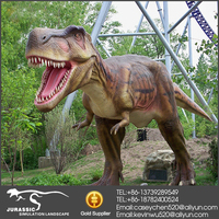 Life-sized Raptor Museum Animatronic T-rex Dinosaur For Sale