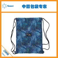 100% QC custom make 210D silk printing waterproof nylon LAUNDRY BAGS