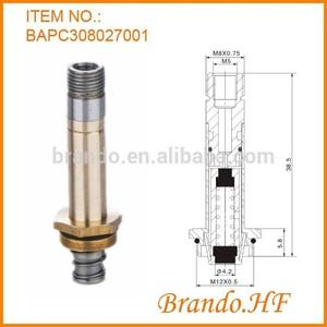 Neumático inducido de solenoide normalmente cerrado , inducido de solenoide de tubo, montaje de válvula de inducido de solenoid