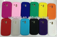 Tire Tread-Style Silm Fit Silicone Gel Soft Case Cover Skin for Samsung Galaxy S3 mini i8190