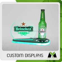 High-end new design acrylic alcohol display holder