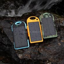 Mobile Backup Power Bank Solar Charger 12000 mAh Portable bank Universal mobile phone charger powerbank Battery externa