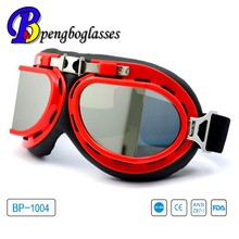 Best selling CE approved classic motorcycle glasses