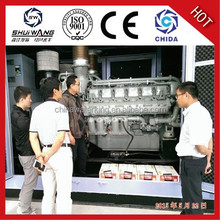 Hot sale! Shandong Shuiwang electric power 100kw diesel generating set