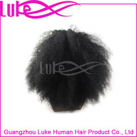 Short Afro Kinky Lace Human Hair Wigs