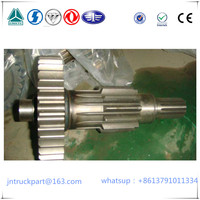 HOWO extended welding shaft assembly of the deputy box(14gear)