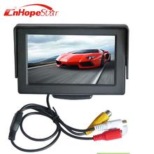 4.3 Inch TFT LCD Car Monitor Parking Rear View Monitor