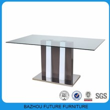 beautiful new design used glass modern dining room furniture