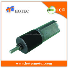 long life low noise high output 16mm planet gearbox motor 12v