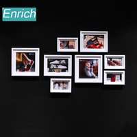 European window display fashion photo frame wall