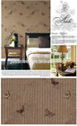Pesado em relevo papel de parede para casa decoeation