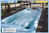 swimming pool and swimming equipment for hotel and passenger liner use