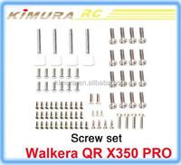 Original Walkera QR X350PRO-Z-05 Screw set for quadcopter QR X350 pro part Drone FPV 2015 New version white wholesale