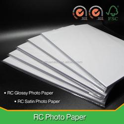 180-260gsm RC glossy & satin Inkjet photo paper