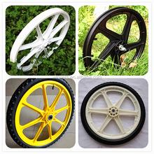 20 inch plastic wheel garden cart wheel,bike bicycle trailer wheel