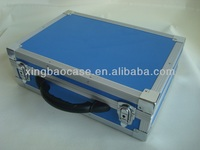 Aluminum framed abs tool case with trayers,multipurpose aluminum tool case,box waterproof tool case