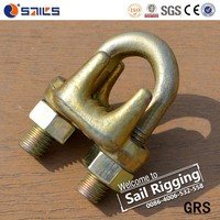 electrical galv malleable type a wire rope clip rigging hardware