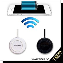 the thinnest mobile phone accessories universal portable wireless charger with charging pad for android