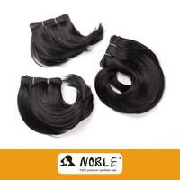 Henan Xuchang Rebecca 2015 new arrival black synthetic hair extension/hair weaving