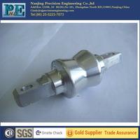aluminium 6082 forging parts, cnc machining shaft, turning servic for auto parts