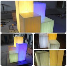 artificial stone solid surface sheet/ translucent sheet light box