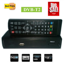 Hot model dvb-t2 set top box hd cable receiver with full hd for russia