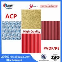 Best Price for Exterior Wall Cladding 4mm PVDF Alucobond Aluminum Composite Panel