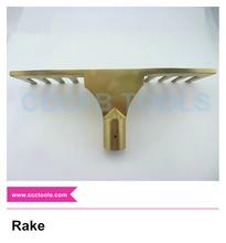 Nonsparking aluminum bronze gold high quality sparkless rake