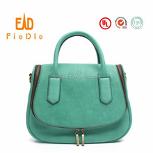 CSS1460-001 2015 Vintage Green Yak leather bag for women