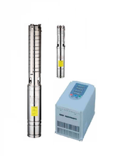 High speed irrigation deep well submersible pump /solar panel /inverter 15
