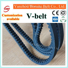 Antistatic, oil and heat resistant Raw Edge Cogged V Belt: ZX AX BX CX DX
