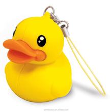 USB mini car speaker portable mini speaker with usb charger duck speaker