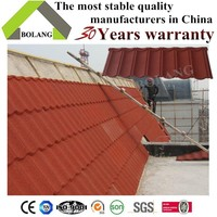 color stone coated chip steel roof tile