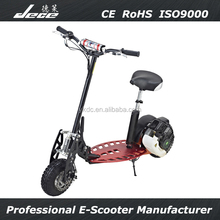 49cc cheap CE Approved fold 2 wheel gas scooters for kids