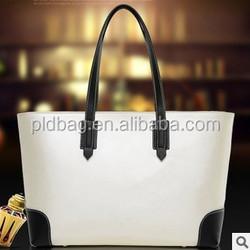 Shopping tote bag for shopping China manufacture women handbags